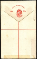 Lot 25966 [2 of 2]:1892 HG #3 6d red on white, some minor adhesion on back o/wise fine.