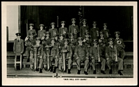 Lot 2359:Box Hill: - Black & white PPC 'Box Hill Band' real photo taken in 1953, unused.  PO 1/2/1861; replaced by Box Hill Business Centre BC c.-/10/1991.