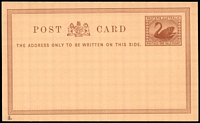 Lot 18250:1879 ½d Brown on Pinkish Brown PSSA #PC1