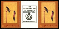 Lot 589 [2 of 4]:1993 Aboriginal Aust set in gutter pairs. (8)