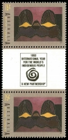 Lot 589 [4 of 4]:1993 Aboriginal Aust set in gutter pairs. (8)