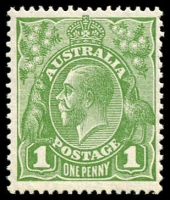 Lot 547:1d Green - BW #81(1)f Die II.