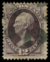 Lot 4490:1870-71 Without Grill Sc #151 12c dull violet.
