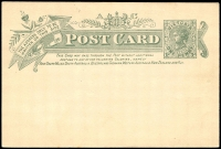 Lot 2104 [1 of 2]:1900 Federation Stieg #P25b 1d grey-green