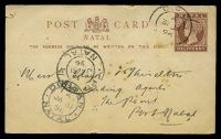 Lot 23098:1885 QV HG #1 ½d red-brown on buff, minor ageing.