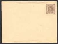 Lot 3677:1894 Prince With Moustache HG #B1 ½a violet-brown on thin white wove.