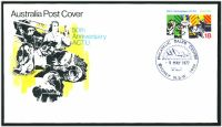 Lot 4236 [1 of 2]:1977 Anniversary ACTU set of 2, on 2 different official Australia Post covers.