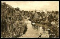 Lot 381:Australia - South Australia: Valentine black & white PPC of 'Torrens Lake from Albert Bridge, Adelaide'.