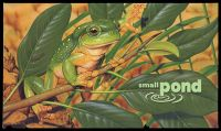 Lot 3749:1999 Small Pond BW #2243w 45c & 50c Frogs minisheet and Stamps PO Pack, Cat $11.