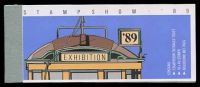 Lot 2939:1989 Trams Stampshow 89 BW #B169 $8, Cat $14, ticket attached.