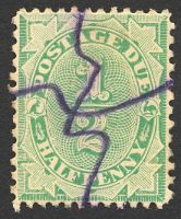Lot 823:1902-04 Design Completed Wmk Crown/NSW BW #D18 ½d emerald, P11½-12x11, Cat $10.