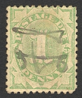 Lot 446:1902-04 Design Completed Wmk Crown/NSW BW #D17 1d dull green, P11, Cat $50.