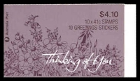 Lot 924:1990 $4.10 Thinking of You BW #B171 original print.