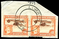 Lot 21952:Lumbwa: double-circle 'LUMBW