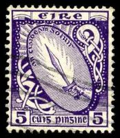 Lot 24510:1922-34 Wmk S in E SG #78 5d deep violet.