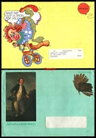 Lot 5530:Australian Stamp Bulletin 13 different Pictorial Bulletin envelopes from the early 80's.