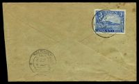 Lot 19299:1941 use of 1a pale blue, cancelled with double-circle 'ADEN