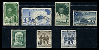 Lot 16497:1957-61 Pre-Decimal Issues SG #1-7 complete set of 7,