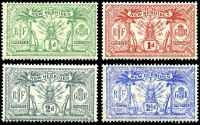 Lot 4438 [2 of 2]:1911 Wmk Multi Crown/CA SG #18-28 set of 9, Cat £75, 1/- & 5/- are **, 2½d has minor surface damage.