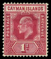 Lot 20628:1905 Wmk Multi Crown/CA SG #9 1d carmine, Cat £14.