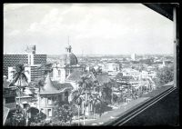 Lot 667:Singapore: black & white PPC of 'A view from/THE CATHAY HOTEL/SINGAPORE, 9', light crease to TLC.
