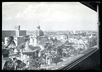 Lot 616:Singapore: black & white PPC of 'A view from/THE CATHAY HOTEL/SINGAPORE, 9', light crease to TLC.