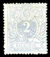Lot 3704:1869-80 Number & Lion SG #47b 2c ultramarine, MNG, Cat £29.