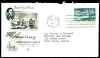 Lot 26296:1953 Roosevelt's House 3c yellow-green, Sc #1023 on Art Craft FDC with Oyster Bay cancel.