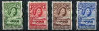 Lot 16998:1955-58 Cattle SG #143-6 short set to 3d. (4)