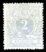 Lot 17010:1869-80 Number & Lion SG #47b 2c ultramarine, MNG, Cat £29.