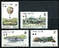Lot 3628:1984 Aviation SG #450-3 set of 4, Cat £14.