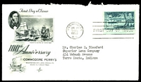 Lot 26030:1953 Roosevelt's House 3c yellow-green, Sc #1023 on Art Craft FDC with Oyster Bay cancel.