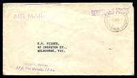 Lot 26623:1964 use of unstamped envelope, cancelled with 'PORT MORESBY/9DEC64/PAPUA NEW GUINEA