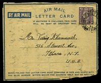 Lot 25752:1946 use of 3d mauve KGVI, cancelled with double-circle 'FIELD POST [OFFICE]
