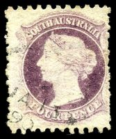 Lot 1696:1870-73 Wmk Large Star Perf 10x11½-12½ or Perf 11½-12½x10 or Compound SG #103 4d dull lilac, Cat £20, short vertical perfs.