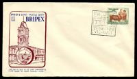 Lot 945:1953 Bripex 'PHILATELIC/EXHIBITION/3SEPT53