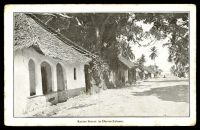 Lot 677:Tanganyika: Times Press, Bombay black & white PPC of 'Katine Street in Dar-es-Salaam.', unused, some minor edge wear.