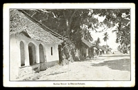 Lot 625:Tanganyika: Times Press, Bombay black & white PPC of 'Katine Street in Dar-es-Salaam.', unused, some minor edge wear.