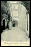 Lot 672:Spain: Levenq & Cottin, Lyon black & white PPC of 'COLEGIO DE LOYOLA.- Atrio y Entrada al Edificio', unused.