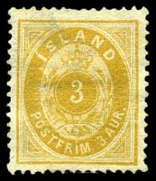 Lot 3640:1882-95 New Colours Perf 14x13½ SG #20a 3a yellow, Cat £140.