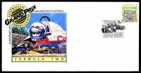 Lot 4400 [3 of 8]:1987 Grand Prix set of 4 APO Grand Prix covers, each with a different pictographic cancel for Formula Ford (12 Nov), Formula 2 (13 Nov), Touring Car (14 Nov) & Formula 1 (15 Nov).