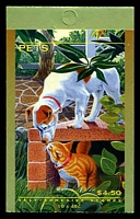 Lot 3913:1996 Pets BW #B225 $4.50, Cat $12.