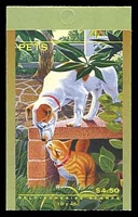 Lot 3910:1996 Pets BW #B225 $4.50, Cat $12.