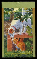 Lot 3912:1996 Pets BW #B225 $4.50, Cat $12.