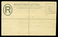 Lot 28421 [1 of 2]:1892 QV in Oval HG #C1 2d grey, 133x82mm (Size F), couple of small tone spots.