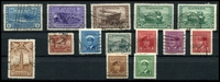 Lot 3432:1942-48 War Effort Perf 12 SG #375-88 set of 14, Cat £22.