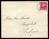 Lot 28621 [1 of 2]:1901 use of 10ö Oscar II, cancelled with dotted circle 'BOLLNAS/1i11br./3/1901' (A1), on plain cover, backstamped with dotted circle 'SKÖFDE/11/3/1901' (A1-) arrival.