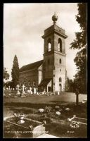 Lot 74:Great Britain: Valentine & Sons black & white real photo PPC of 'THE CHURCH WEST WYCOMBE'.