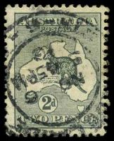 Lot 935:2d Grey Die I BW #7 Cat $15.