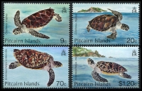Lot 4093:1986 Turtles SG #281-4 set of 4.
